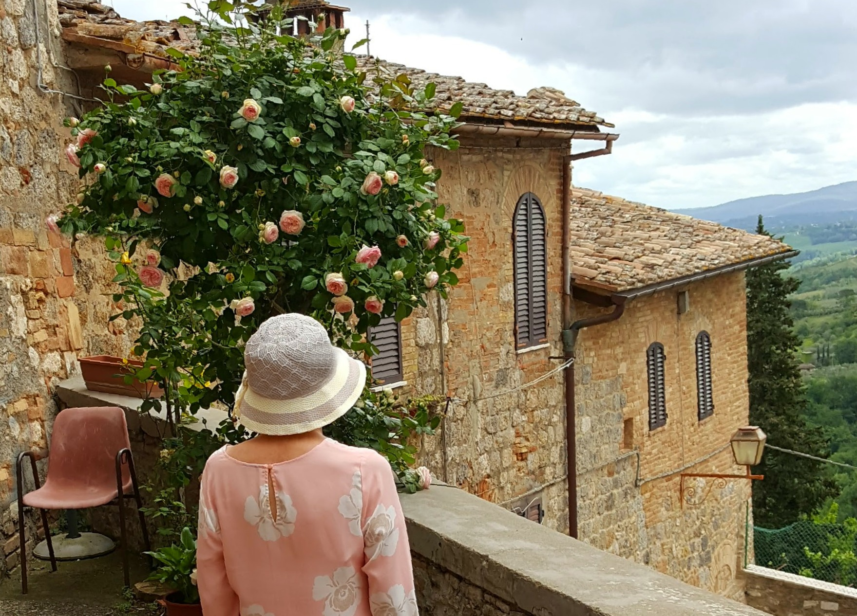 Living and traveling with cancer. Spring in Tuscany.