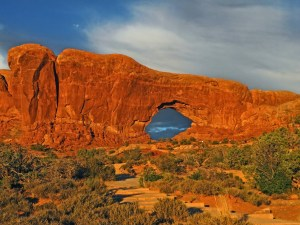 Why Utah Is the Best State for Nature Lovers. Arches National Park at sunset.