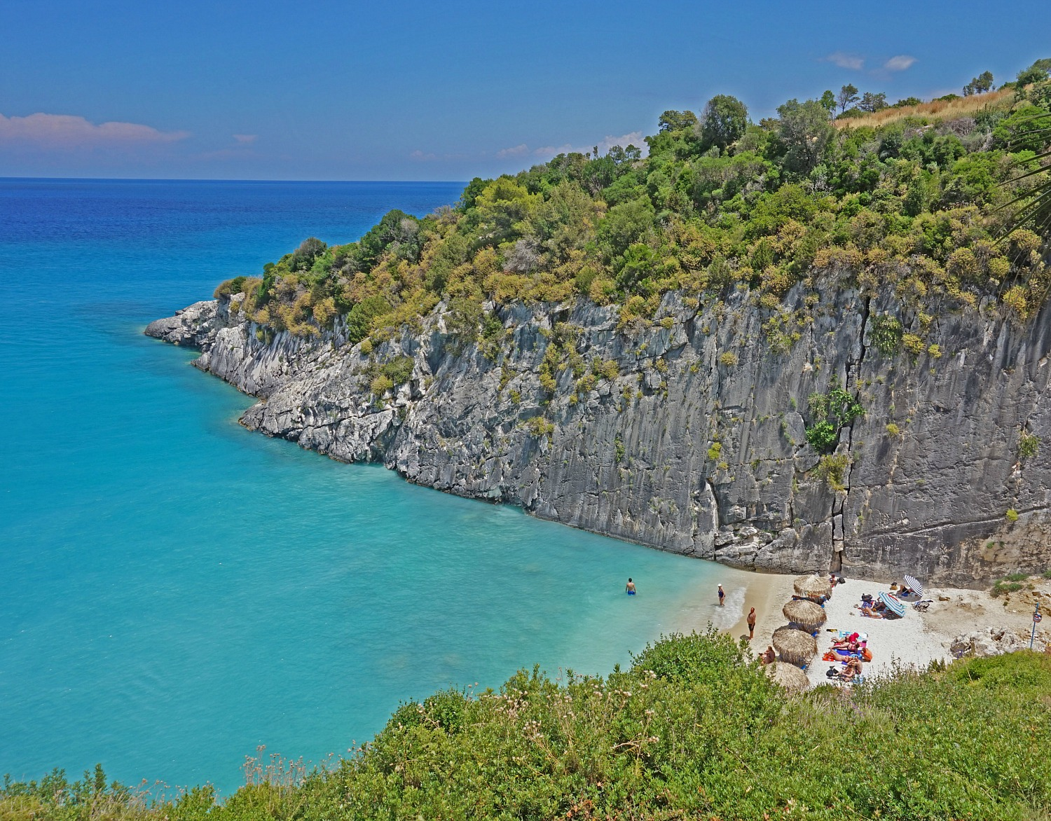 Zakynthos Greece - how to visit. Secluded beach.