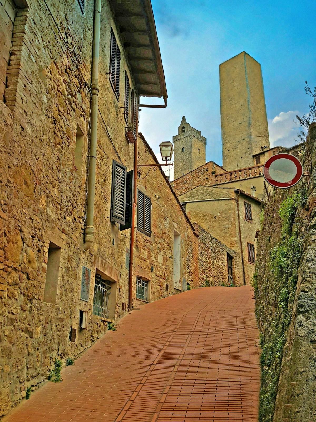 San Gimignano in the Chianti region of Tuscany.