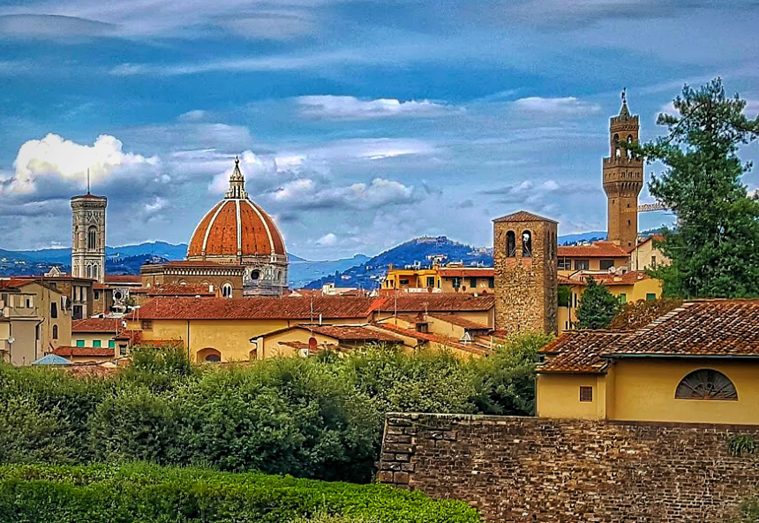 Florence - city view.