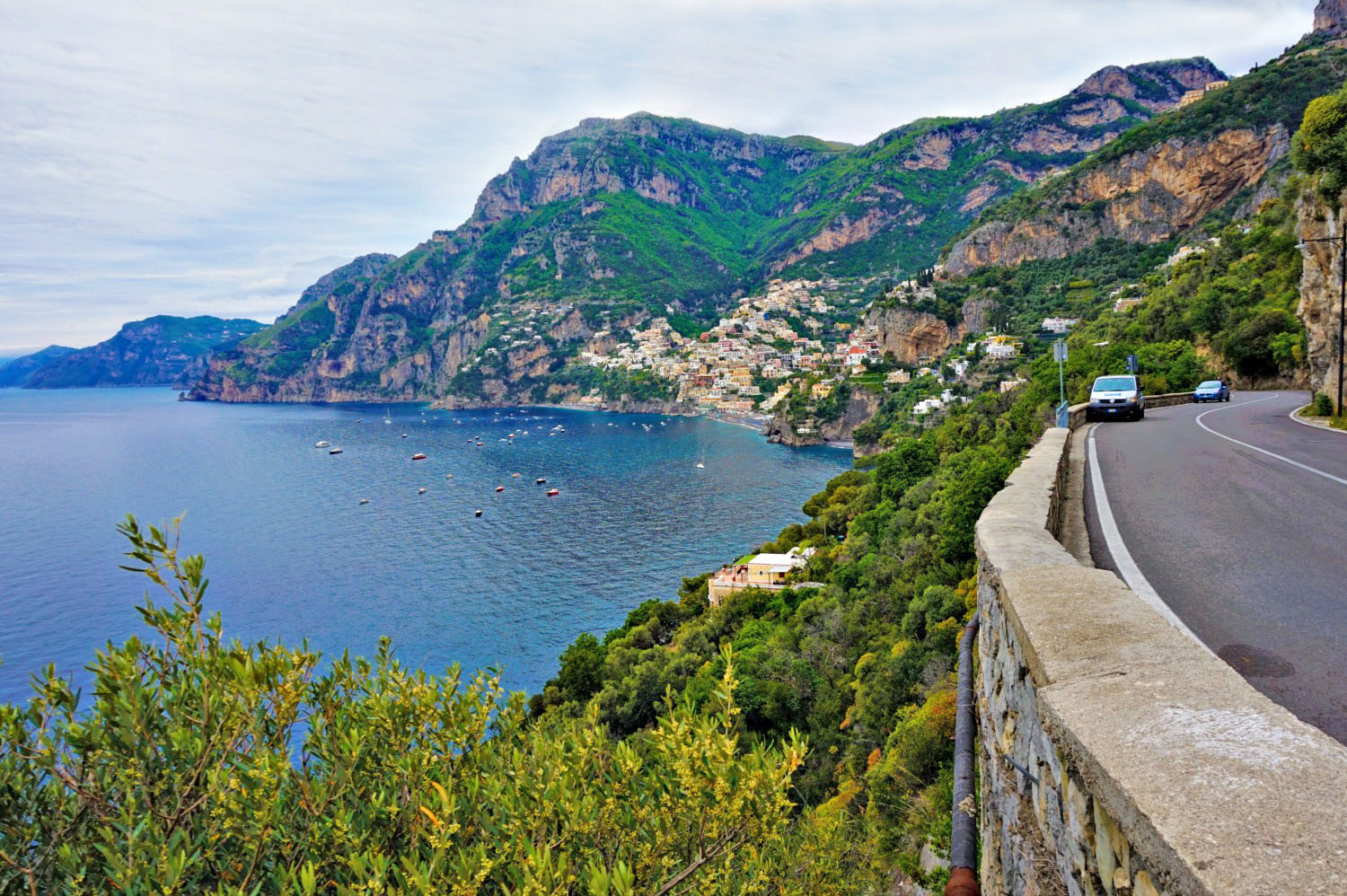 Ride along the Amalfi Coast.