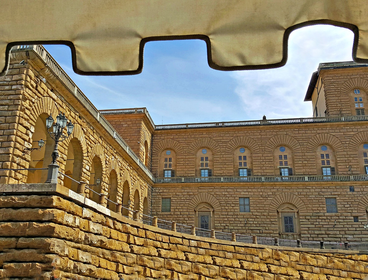 What to see in Italy - Palazzo Pitti in Florence.