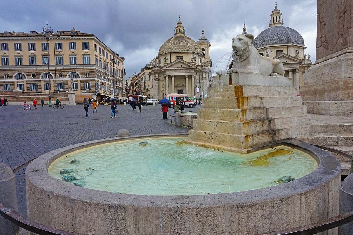Piazza Del Popolo Rome.