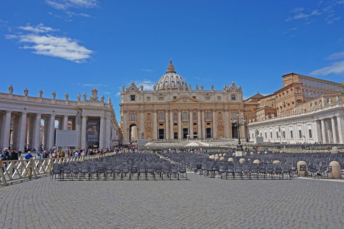 St. Peter's Square in Vatican City.