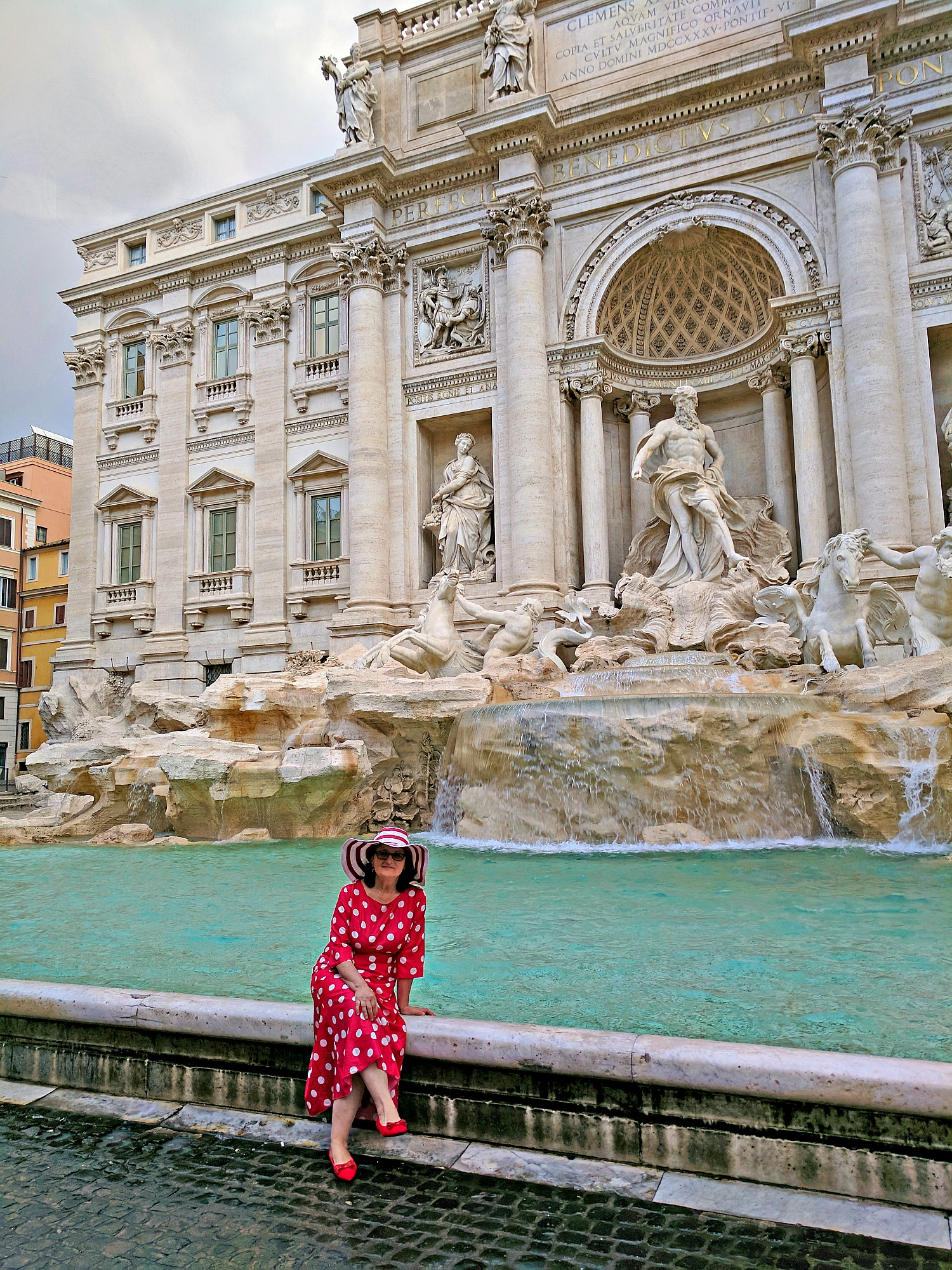 Trevi Fountains in Rome.