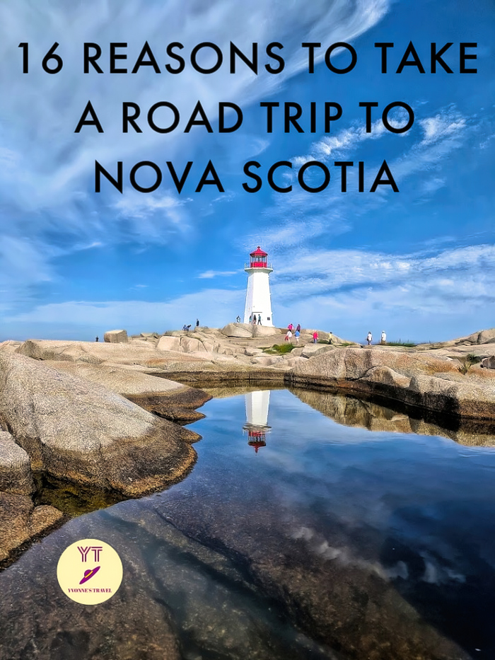 From the famous Cabot Trail through historic Lunenburg to an idyllic fishing village of Peggy's Cove, Nova Scotia had it all for a great road trip destination. #canada #novascotia