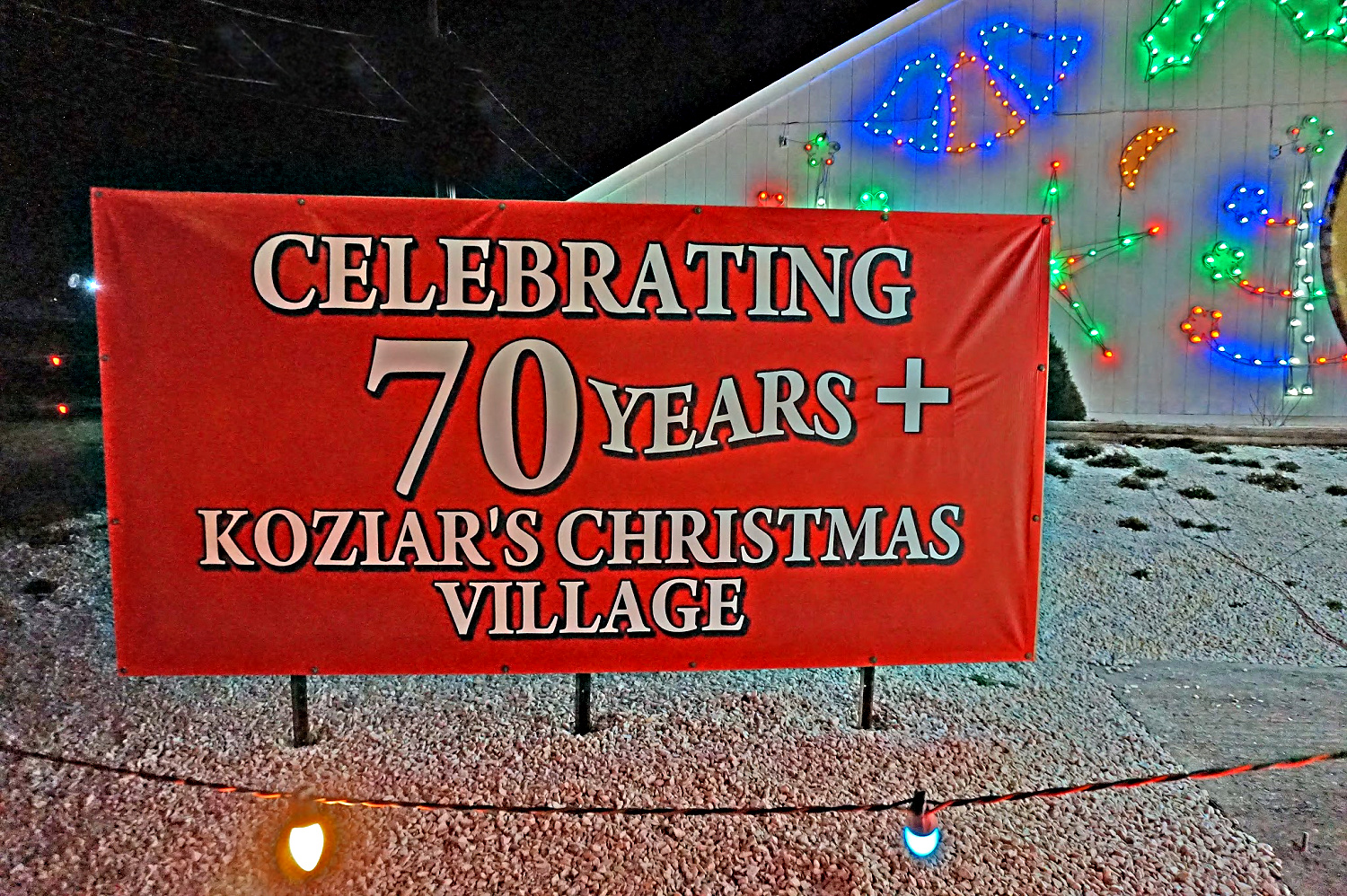 Koziar's Christmas Village continues its 72 old tradition of the light display.