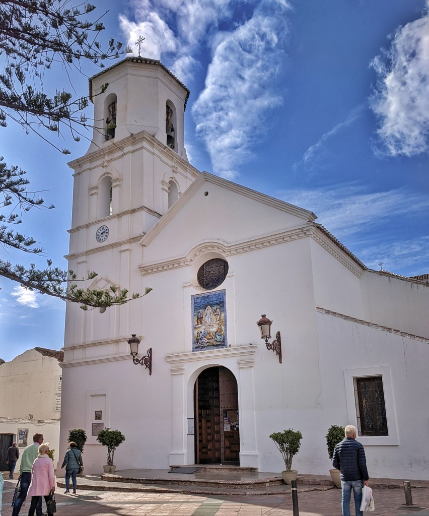Holidays to Costa del Sol. Beautiful church in Nerja.