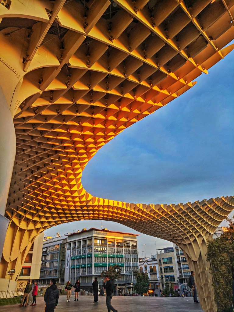 Southern Spain itinerary. Metropol Parasal Seville.