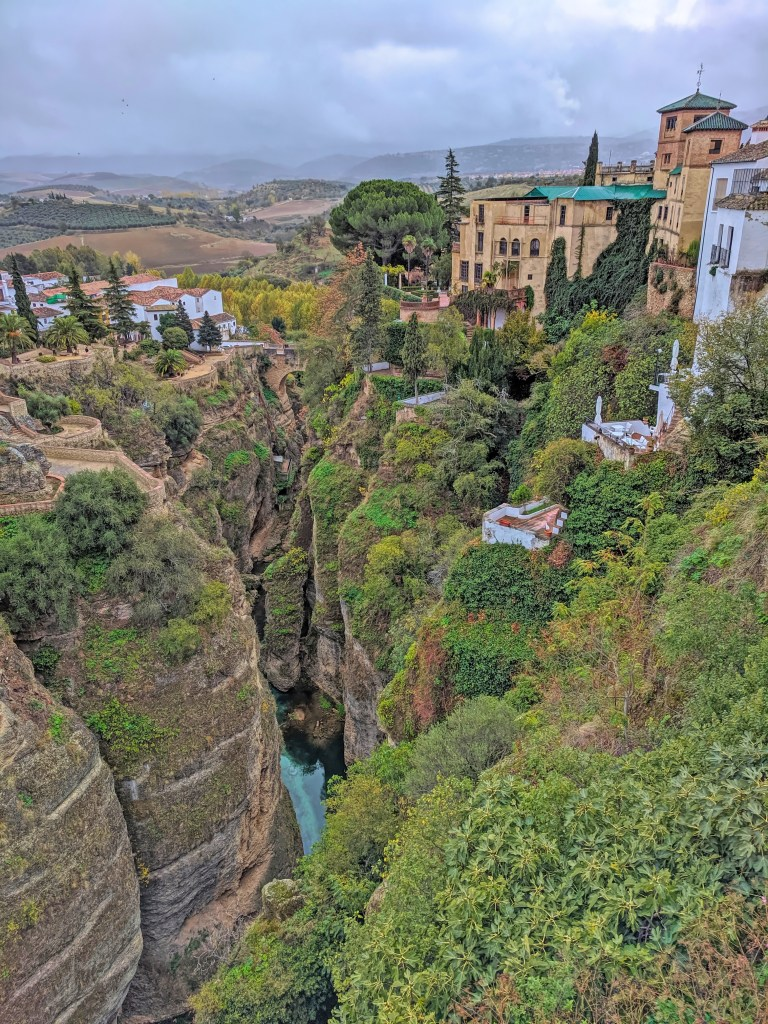 What to do in Ronda Spain. Another great view from Puente Nuevo.