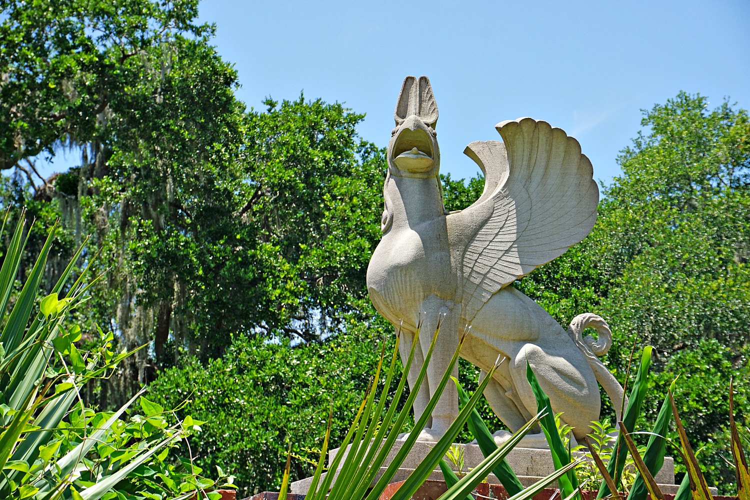 Brookgreen Gardens, South Carolina. Outdoors art galery.