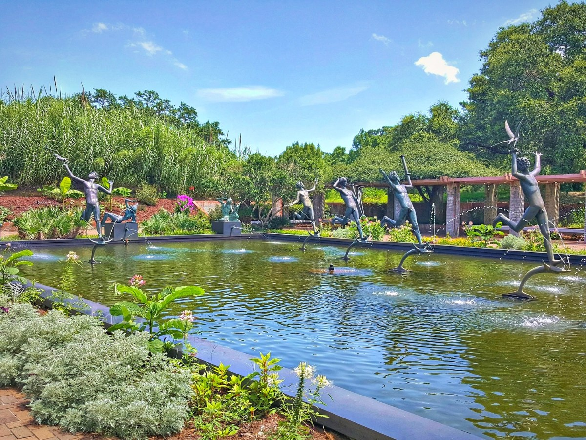 The Fountain of the Muses - my favorite part of Brookgreen Gardens,