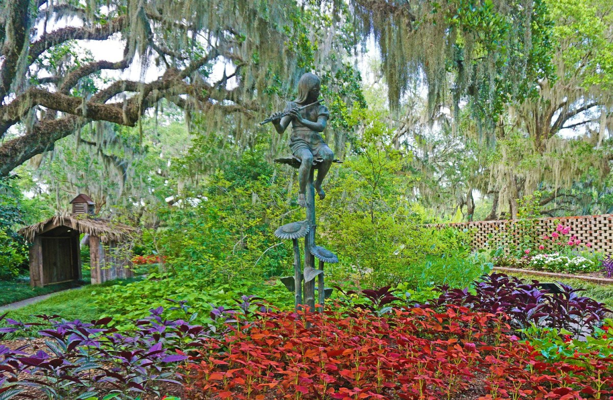 Another scene straight from a storybook in Brookgreen Gardens, South Carolina.