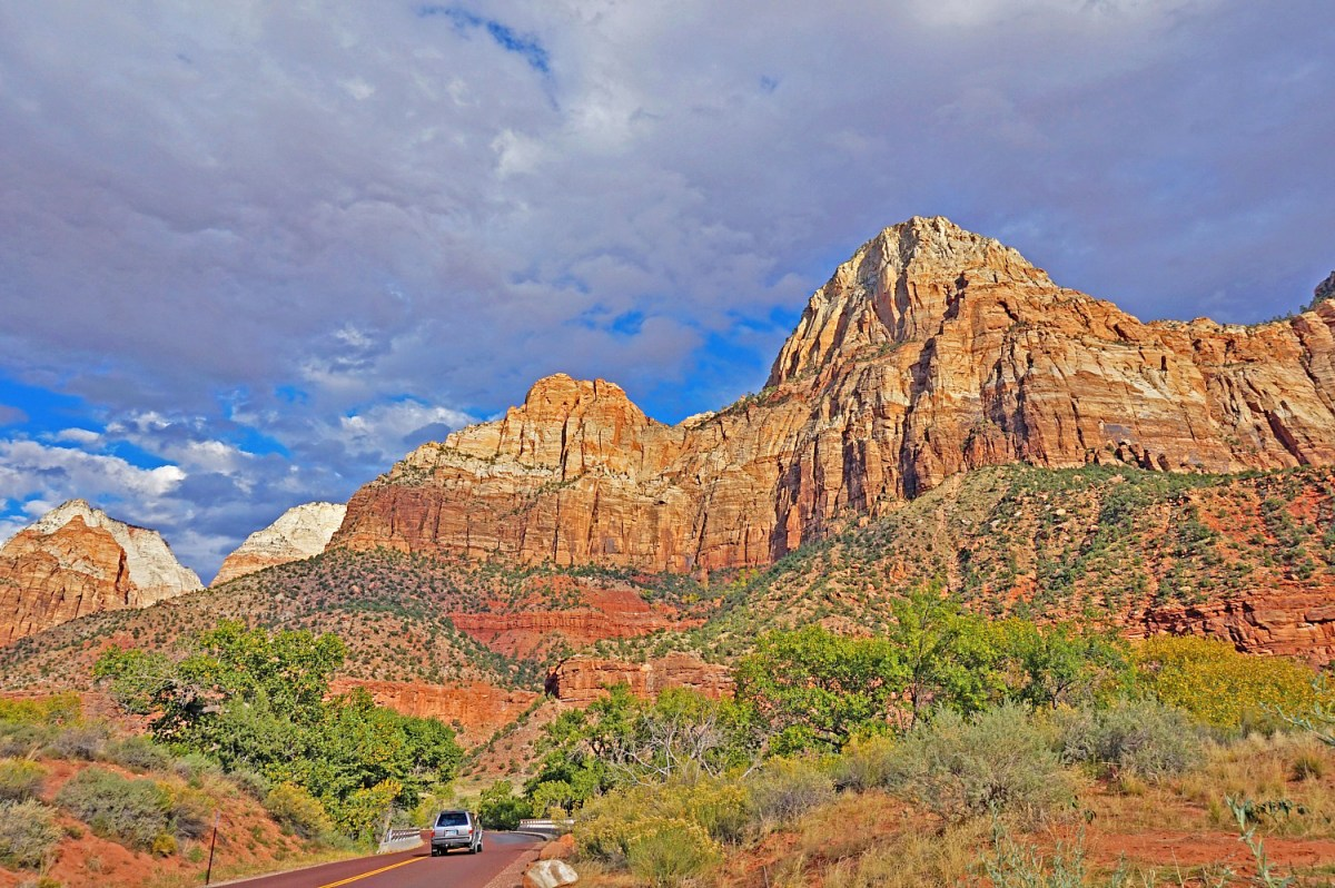 Zion National Park can certainly impress with its red rock scenery.