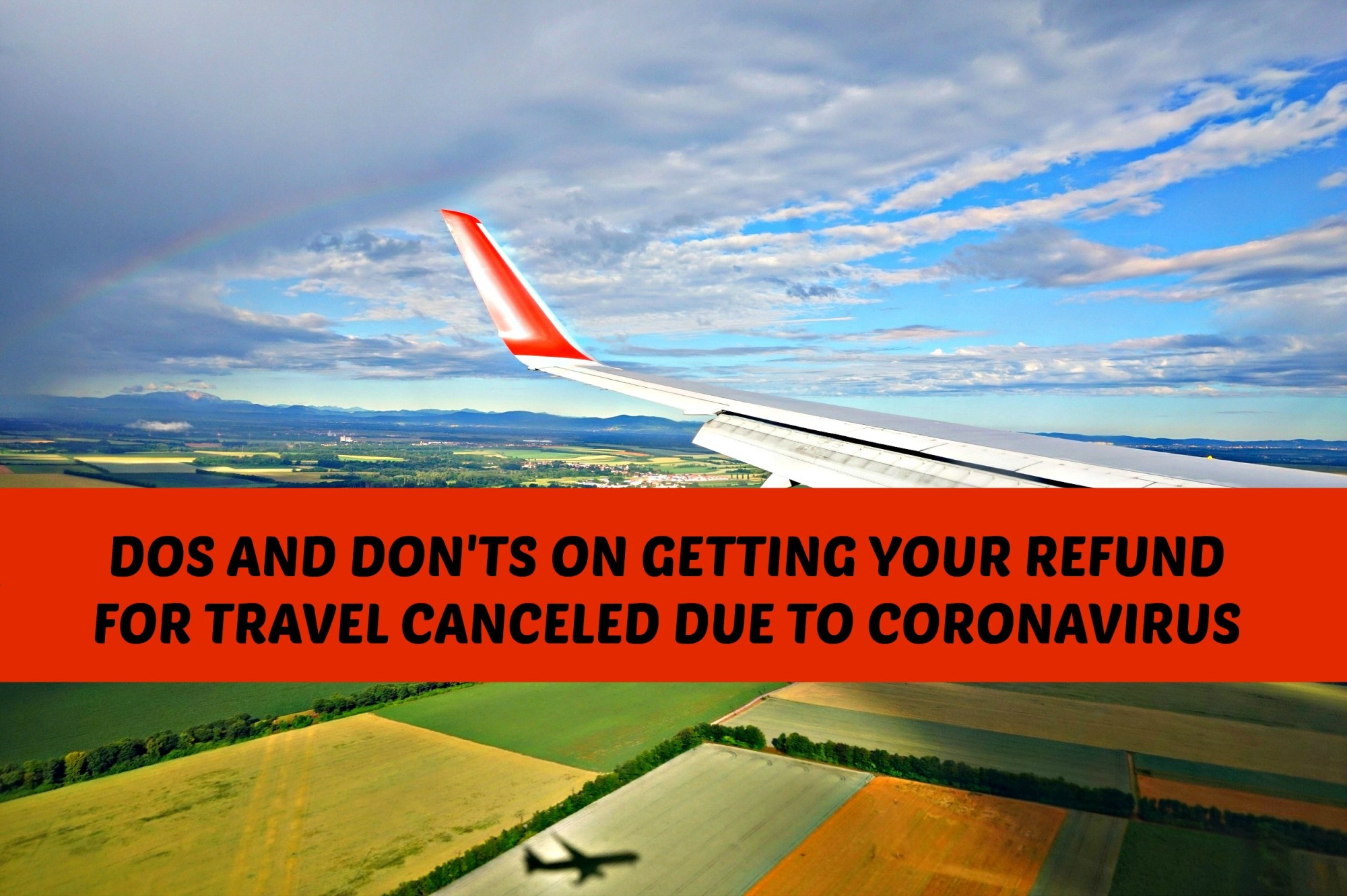 Travel refund during coronavirus pandemic.