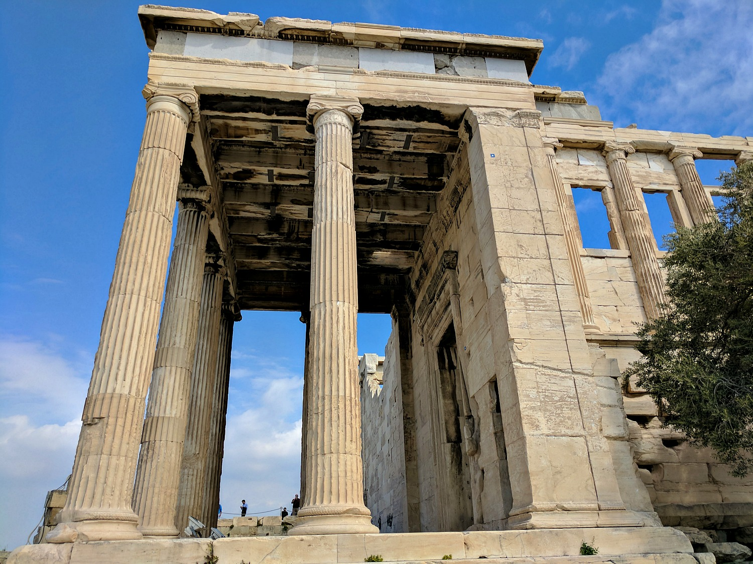 Itinerary for Athens. The Acropolis complex is the number one attraction in Athens.