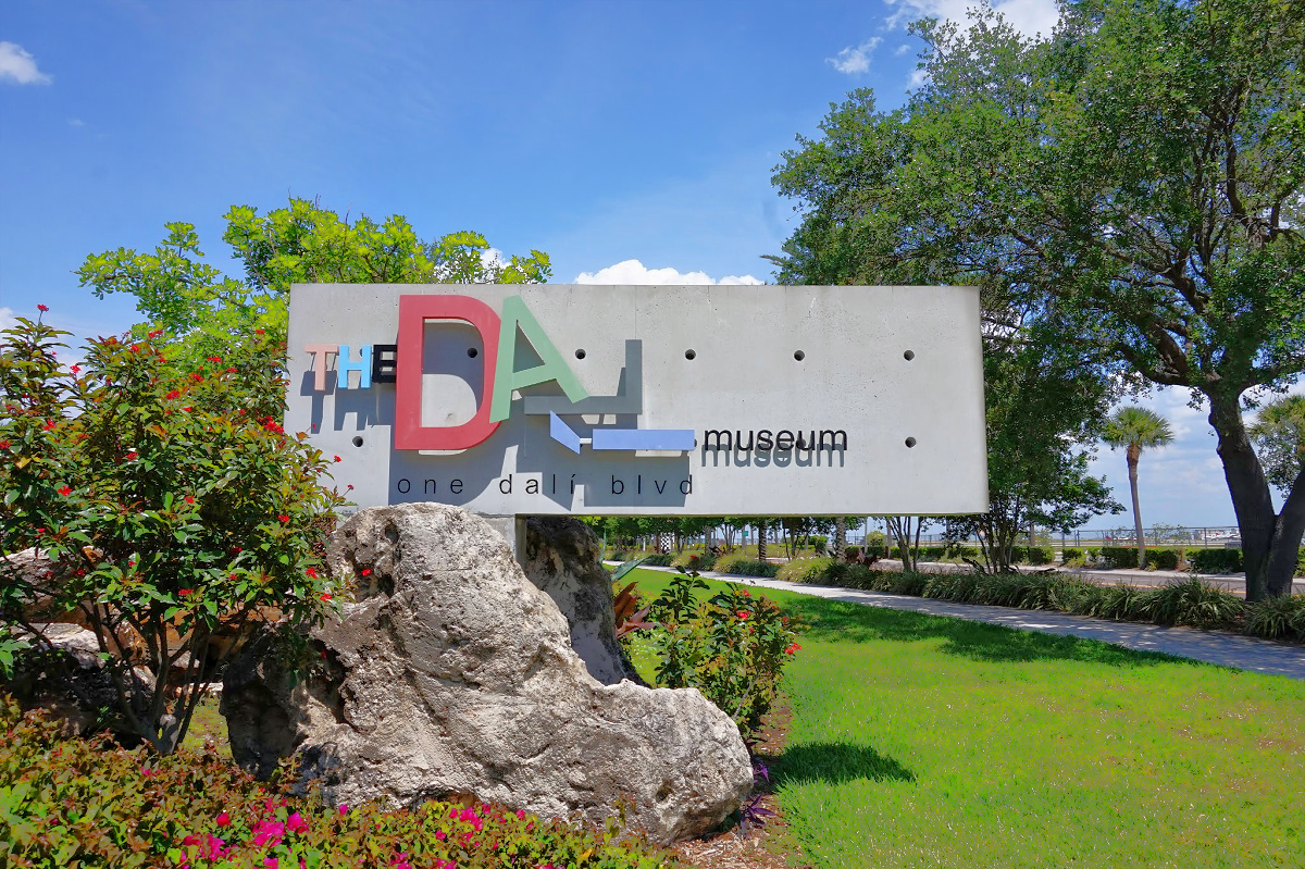 The Dali Museum in St. Petersburg Florida