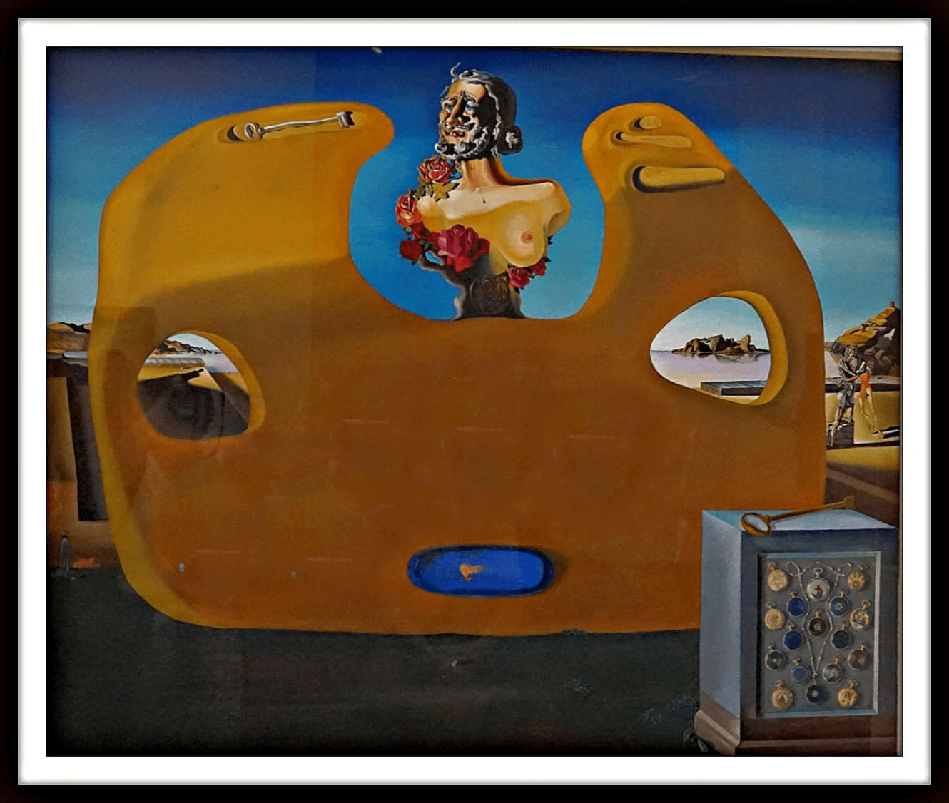 Memory of the Child-Woman - Salvador Dali 1931. The Dali Museum in St. Petersbug, Florida.