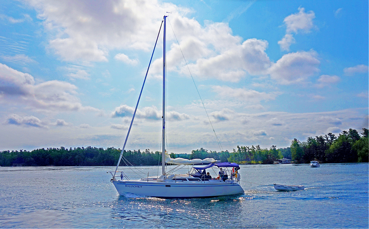 If you are a boater, you will love the 1000 Islands.