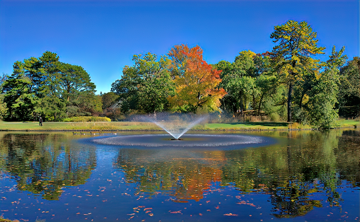 Best things to do in Providence, RI. Roger Williams Parks bursts with color in October.