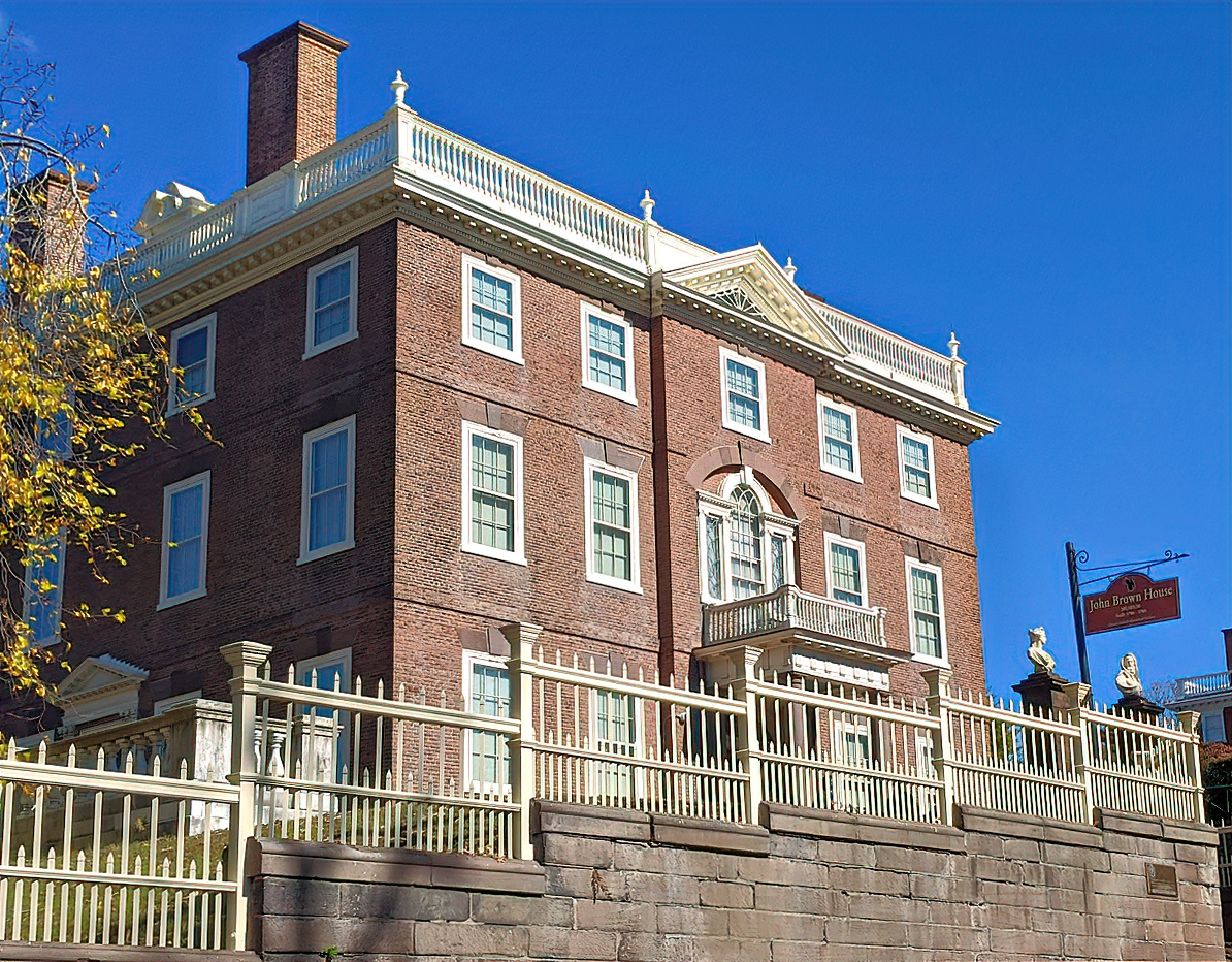 The Nightingale-Brown House on Benefit Street - Providence, RI.