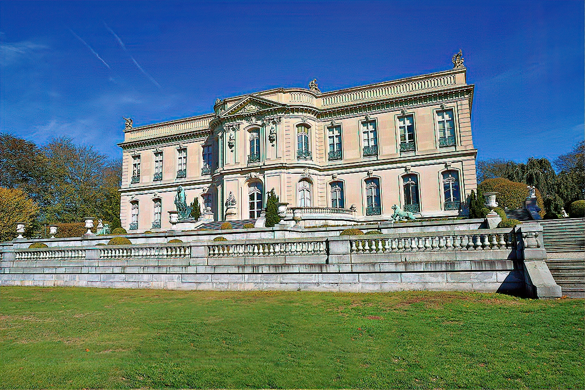 The Elms mansion at Newport, Rhode Island.