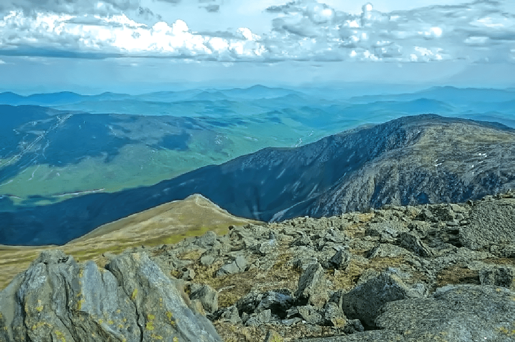 Views are absolutely spectacular from Mount Washington Auto Road.
