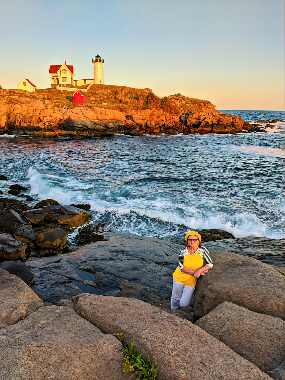 Cape Neddick Light (Nubble Light) draws more visitors than any other lighthouse in Maine.