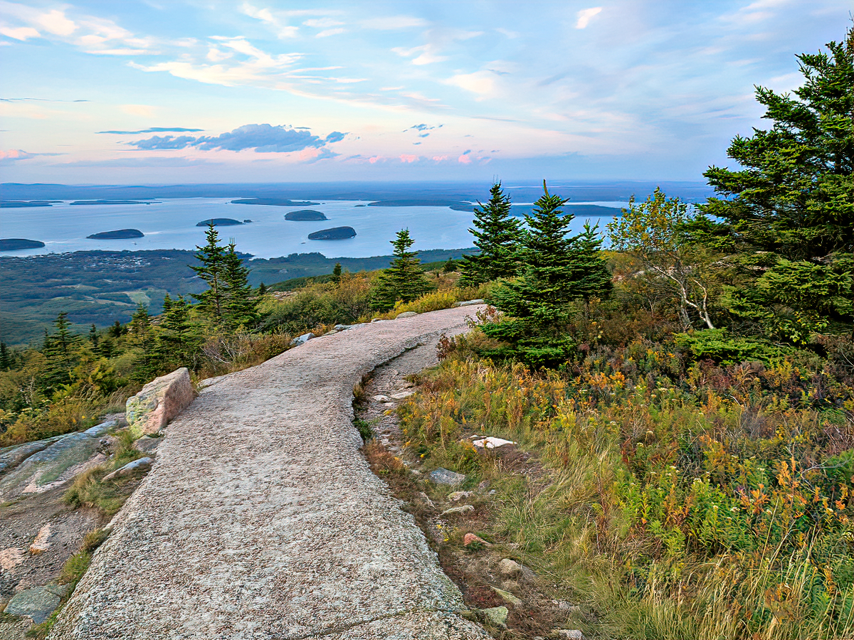 You will find stunning views at Cadillac Mountains.