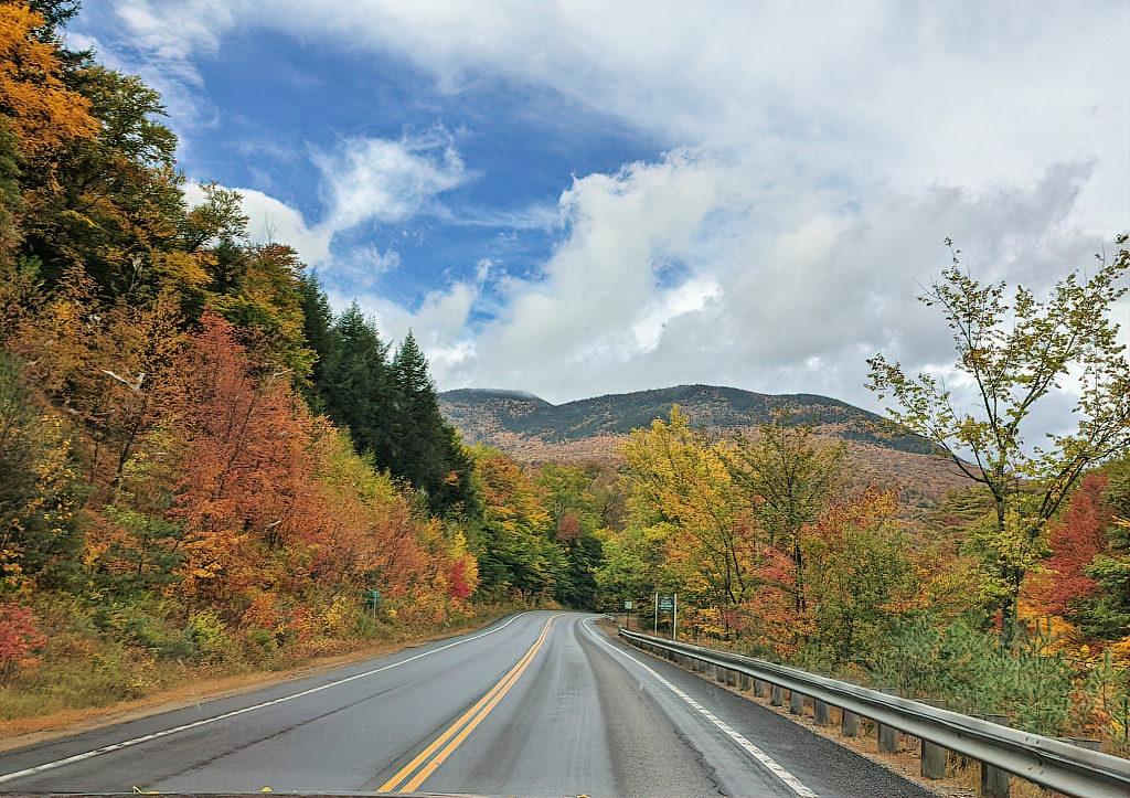You can easily see a lot of White Mountains just by driving Kancamagus Highway.