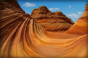 The Wave in Arizona. Only 20 people per day can visit it.