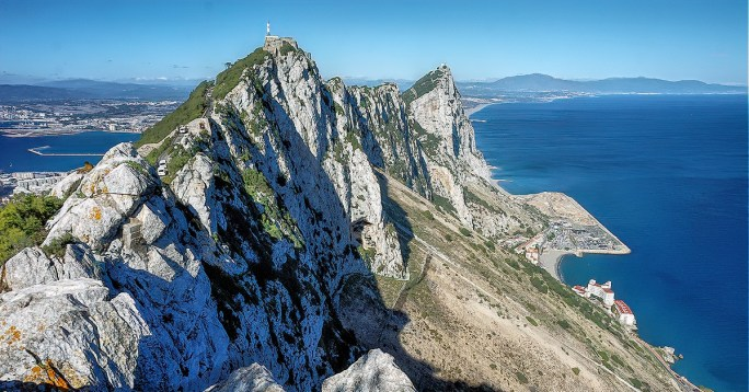 Rock of Gibraltar is the main attraction in the Gibraltar.