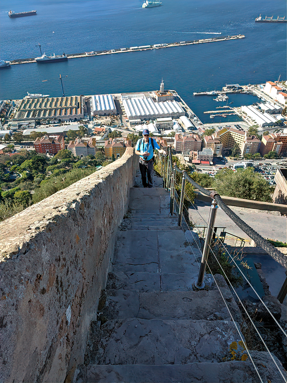 Trail to the Rock of Gibraltar.