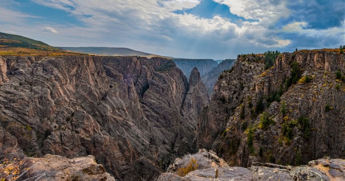 Black Canyon on the Gunnison National Park view.