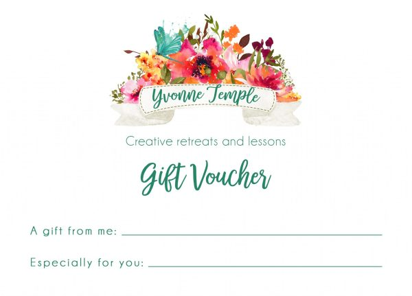 Yvonne Temple sewing lessons and retreats Gift Voucher