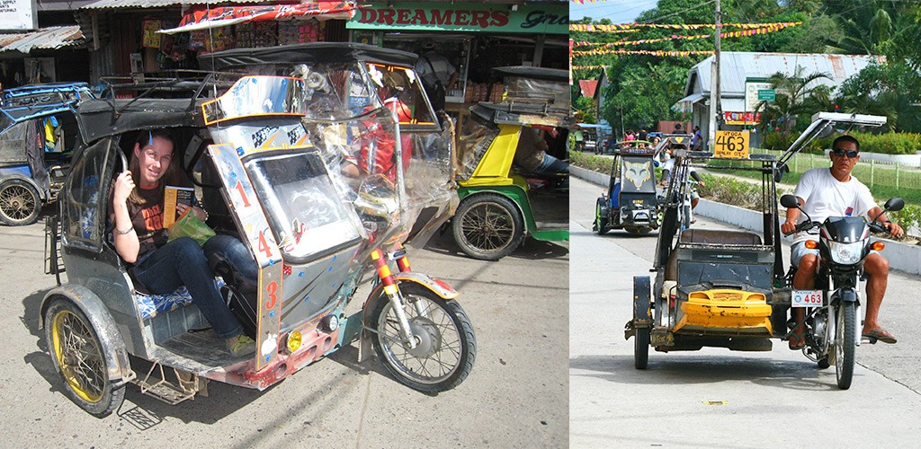 Negros tricycle