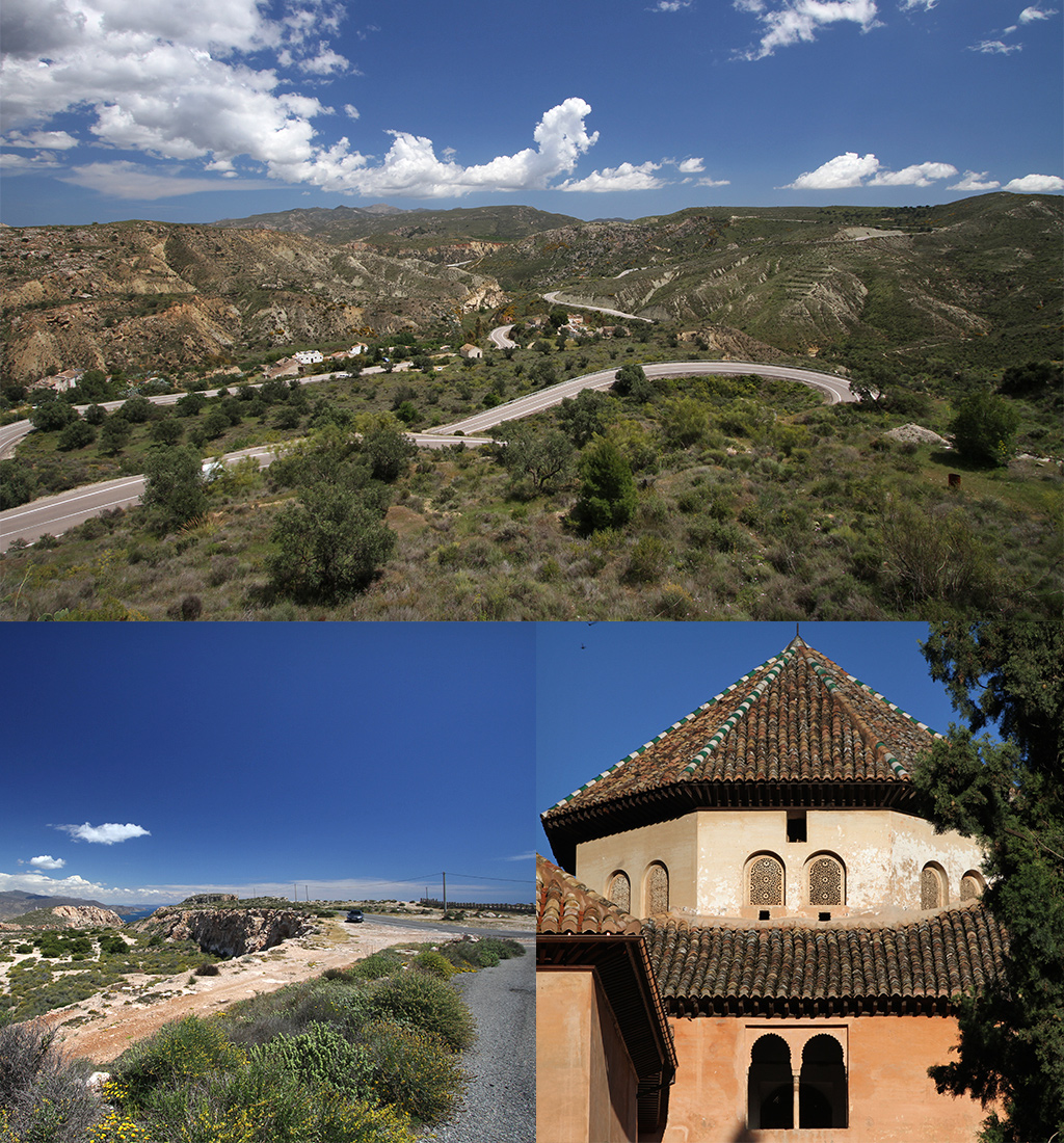 roadtrip Andalusië route 1 of 2 weken
