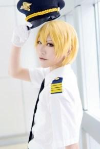 Saffron as Kise Ryouta (Kuroko no Basuke)