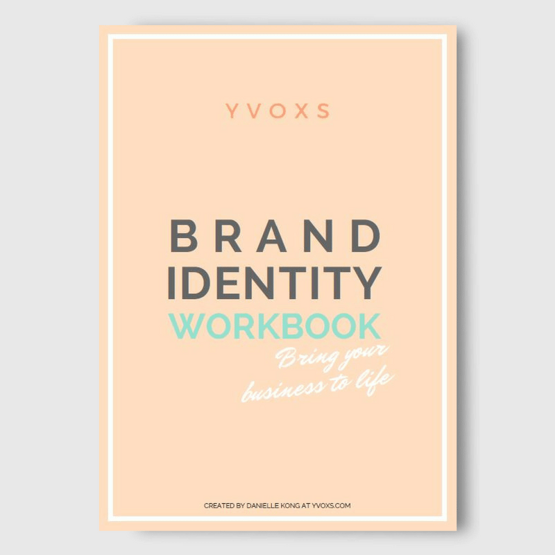 Brand Identity Workbook Cover