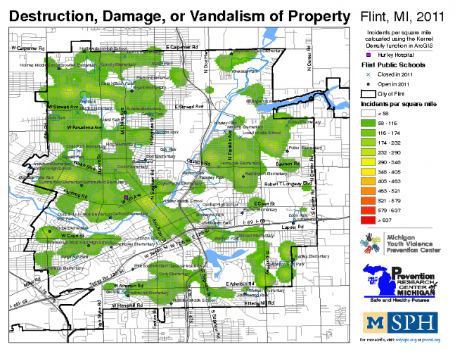 Destruction, Damage, or Vandalism of Property (2011)