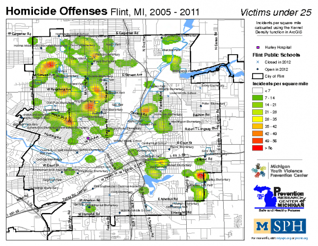 Homicide Offenses, Victims under 25 (2005-2011)