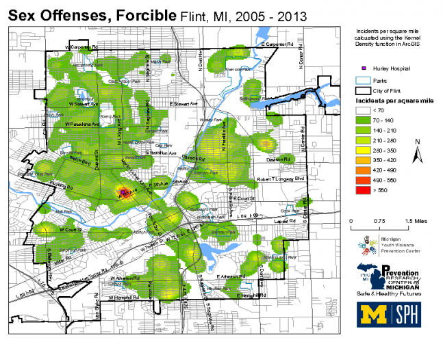 Sex Offenses, Forcible (2005-2013)
