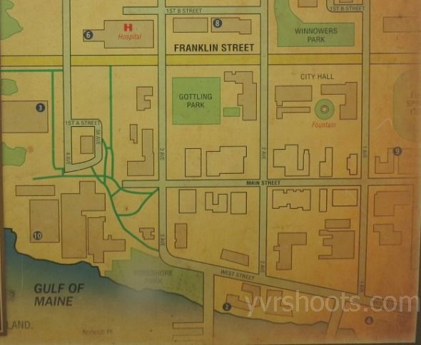 Set Once Upon A Time S Historical Storybrooke Map In Steveston