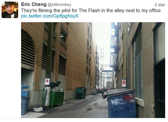 Flash in alleys