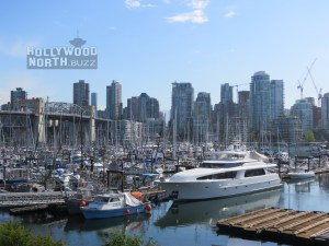OVERBOARD in Vancouver on Yacht in False Creek Harbour
