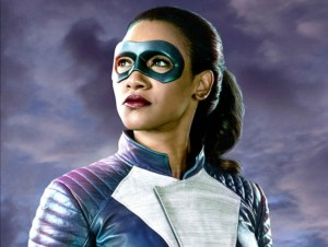 Candice Patton Suits Up on THE FLASH Tonight
