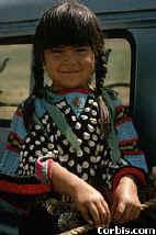 Nez Perce Mädchen