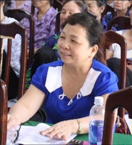 Mrs. Tai attending training