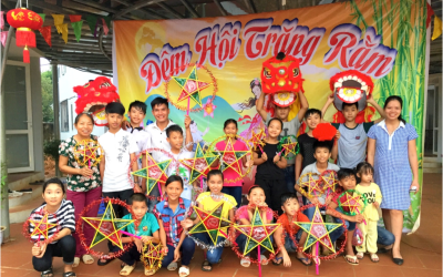Enjoying a Traditional Mid-Autumn Festival in the Children's Home